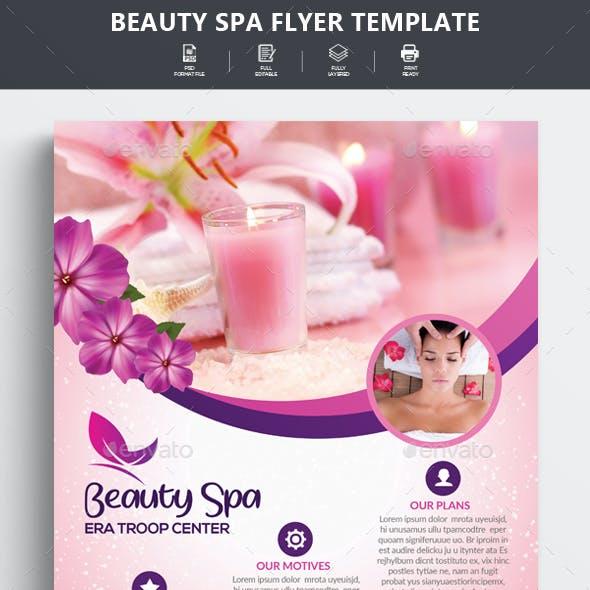 Beauty Spa & Massage Flyer