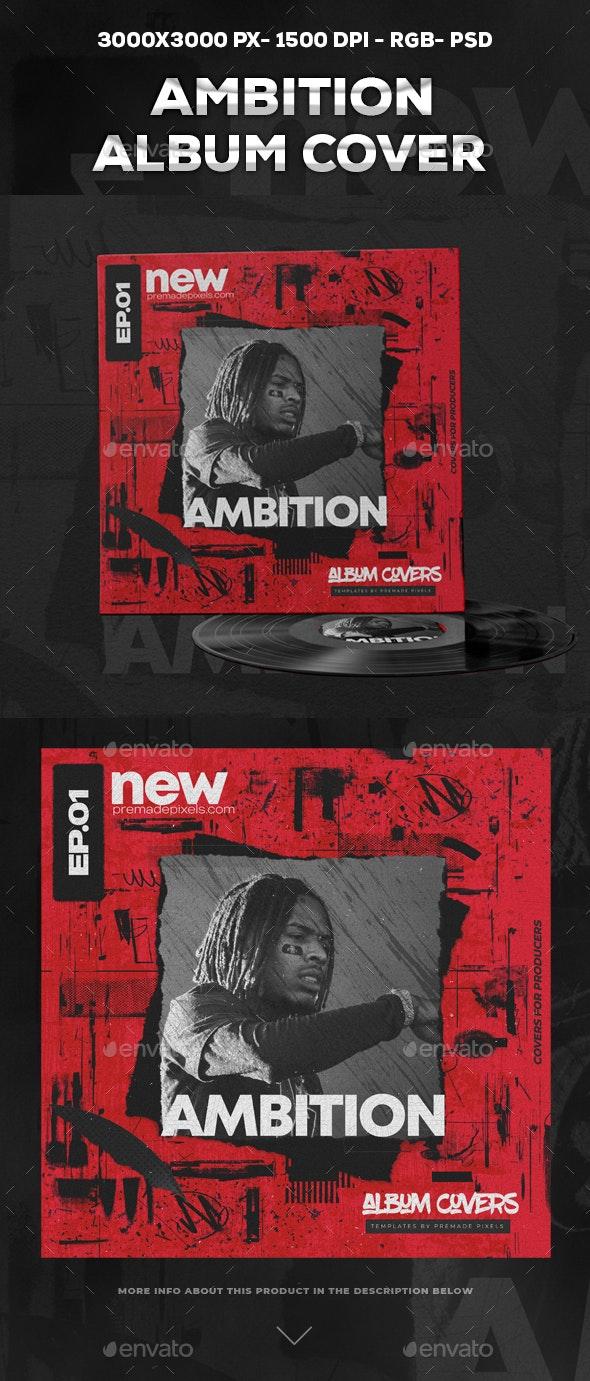 Ambition Album Cover - Social Media Web Elements