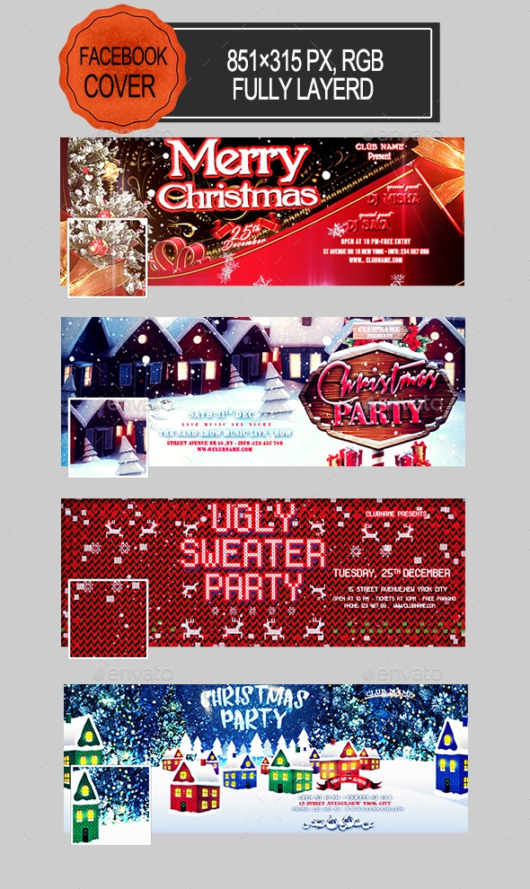 Christmas Facebook Covers - Facebook Timeline Covers Social Media