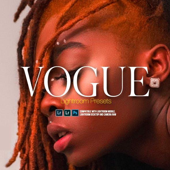 Vogue Fashion Lightroom Presets