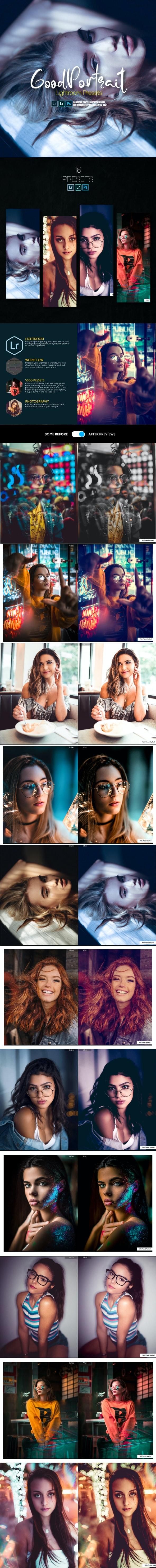 Cinematic Portrait Lightroom Presets Mobile and Desktop - Portrait Lightroom Presets