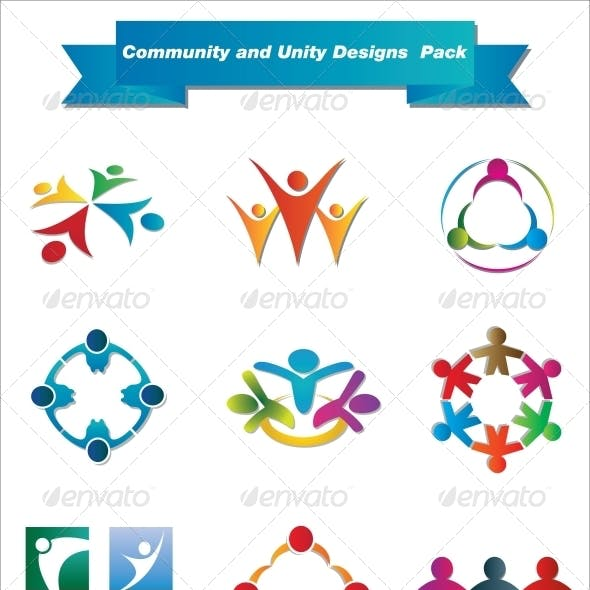 Community and Unity Designs Pack