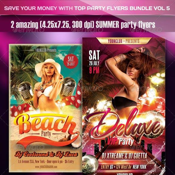 Top Party Flyer Bundle Vol6