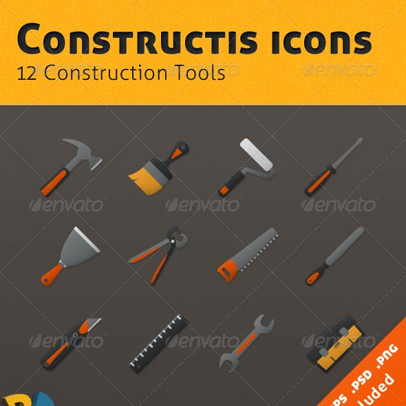 Constructis tools iconset