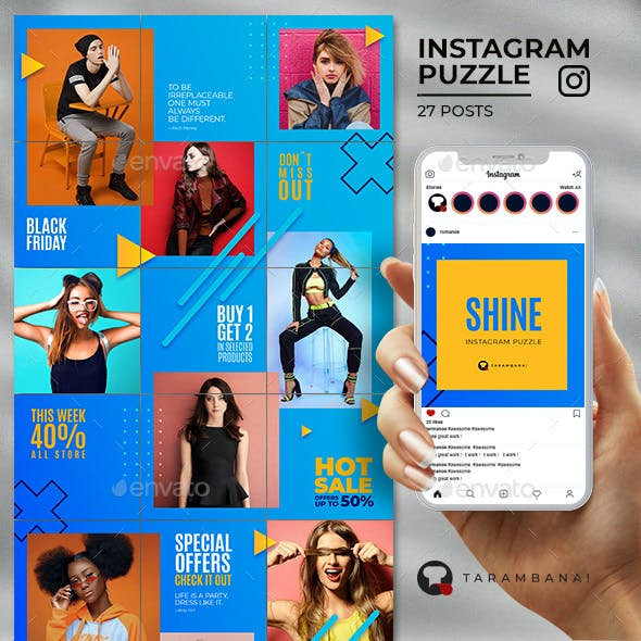 Shine - Instagram Puzzle Feed