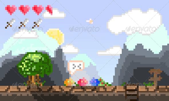 Game Artwork Pack - Sprites Game Assets
