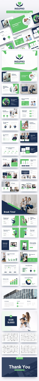INSUPRO - Insurance Keynote Template - Finance Keynote Templates