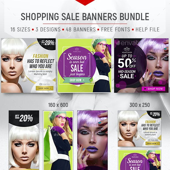 Sale Banners Bundle