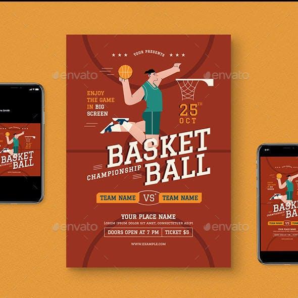 Basketball Flyer Pack