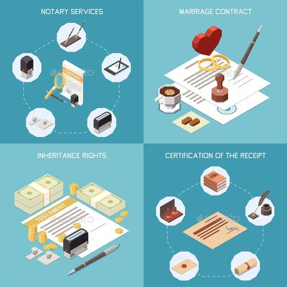 Notary Services 2x2 Design Concept