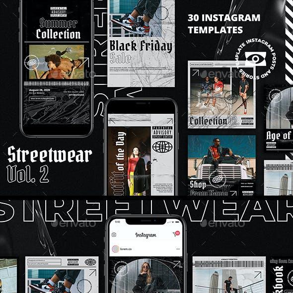 Streetwear Vol. 2 Instagram Pack