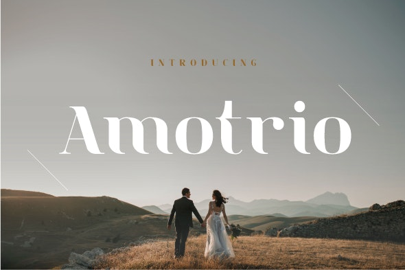 Amotrio - Serif Fonts