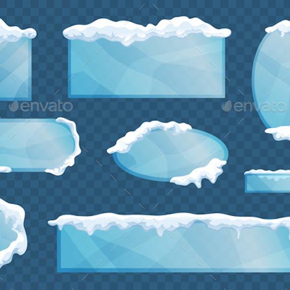 Snow Ice Cap Set