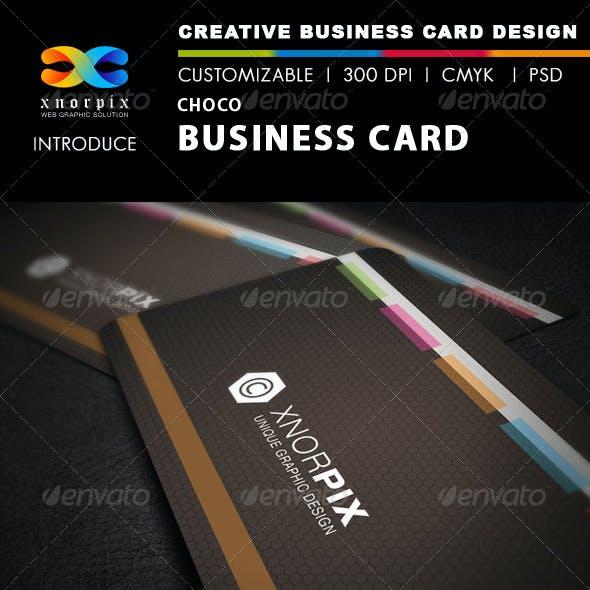 Choco Business Card