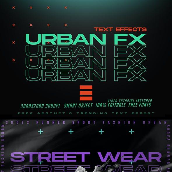 Urban Trending Text Effects