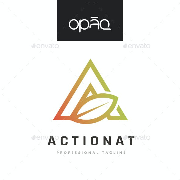 A Letter Nature Logo