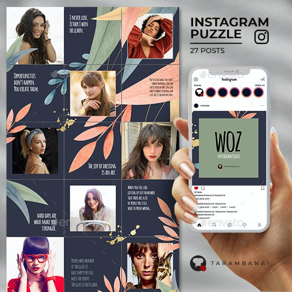Woz - Instagram Puzzle Feed