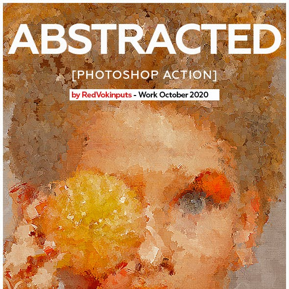 Abstracted Photoshop Action