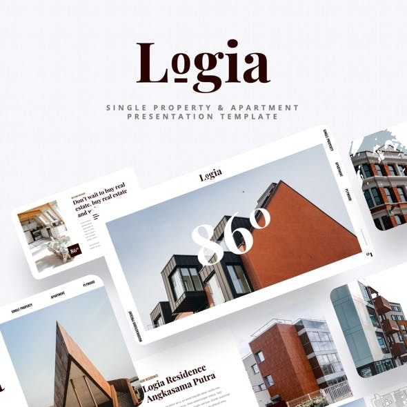 Logia - Single Property & Apartment Keynote Template