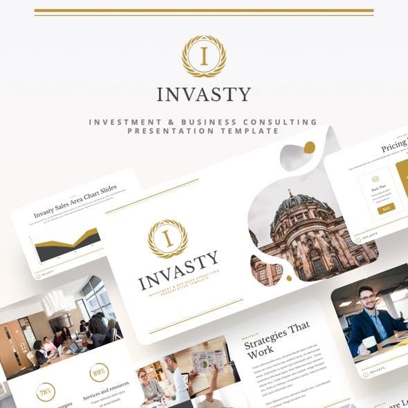 INVASTY - Investment & Business Consulting Keynote Template