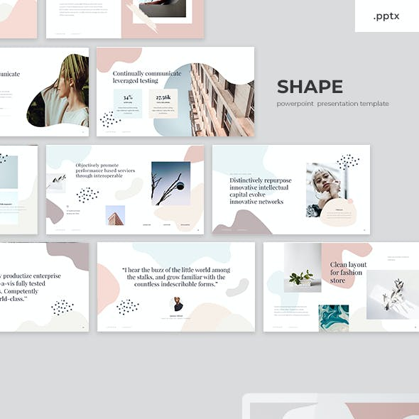 Shape - PowerPoint Presentation Template