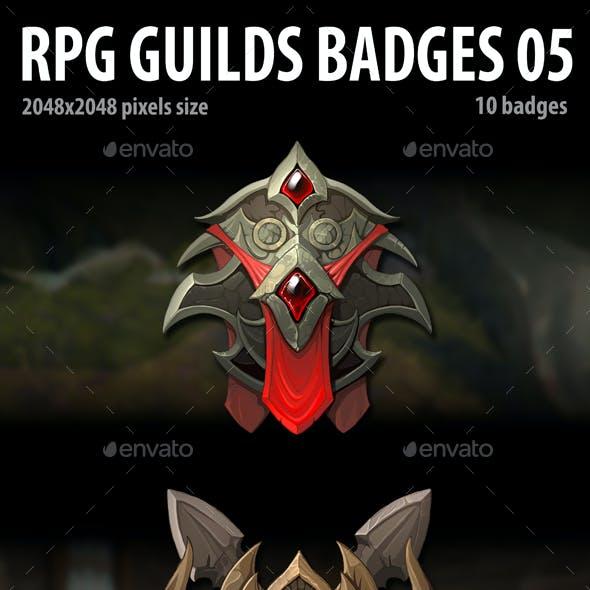 RPG Guilds Badges 05