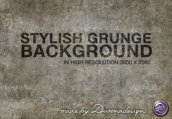 Stylish grunge background No. 3 - Backgrounds Graphics