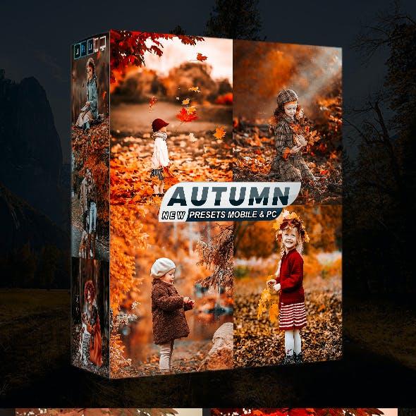 HDR Autumn Presets Mobile & Desktop