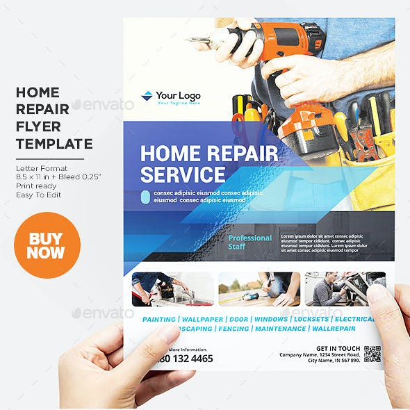 Home Repair Services Flyer