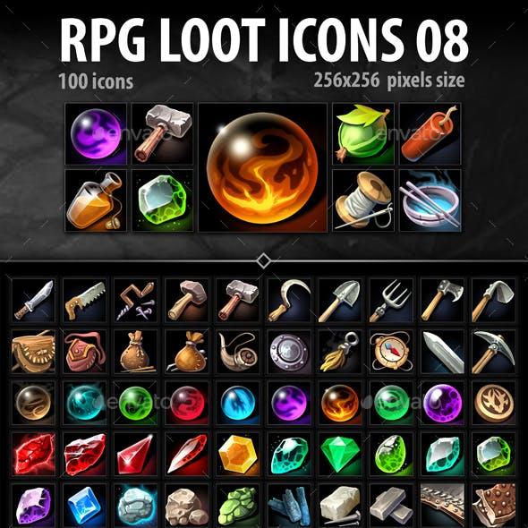 RPG Loot Icons 08