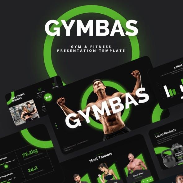 GYMBAS - GYM & Fitness Keynote Template