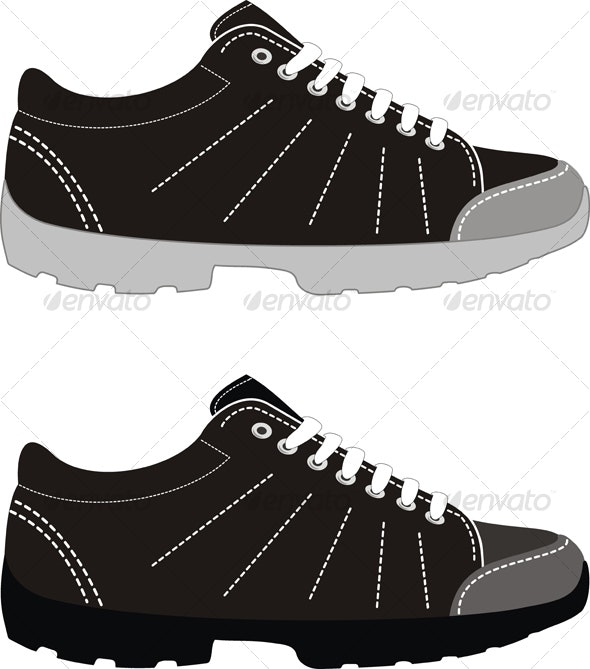 Sports footwear – trekking boots - Sports/Activity Conceptual