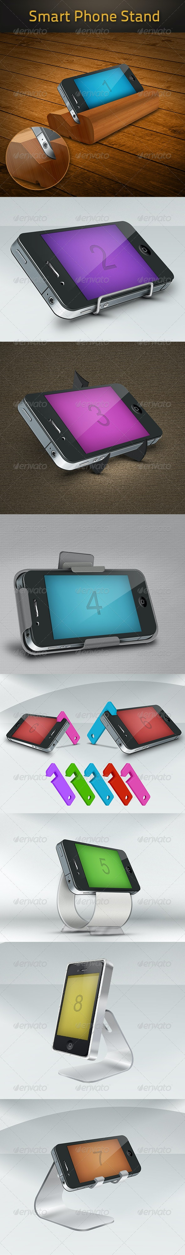 Stand Phone - Miscellaneous Product Mock-Ups