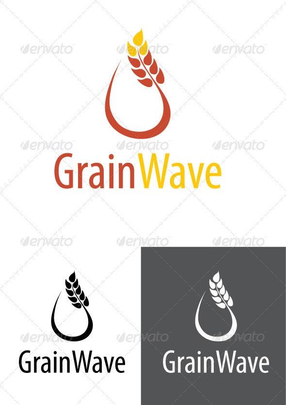 Grainwave Logo - Nature Logo Templates