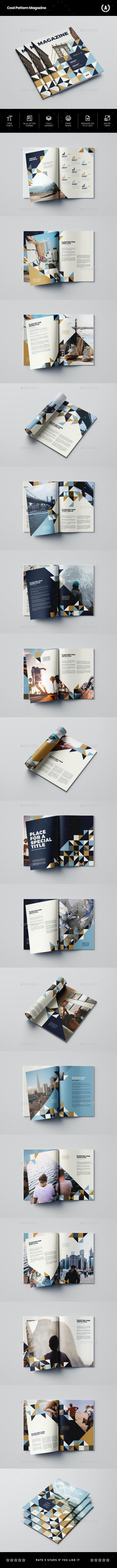 Cool Pattern Magazine - Magazines Print Templates