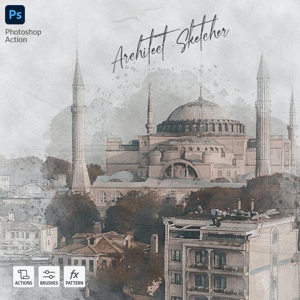 Architect Sketcher - Photoshop Action