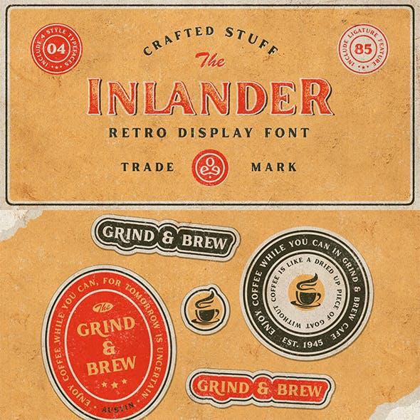 Inlander - Retro Display Font