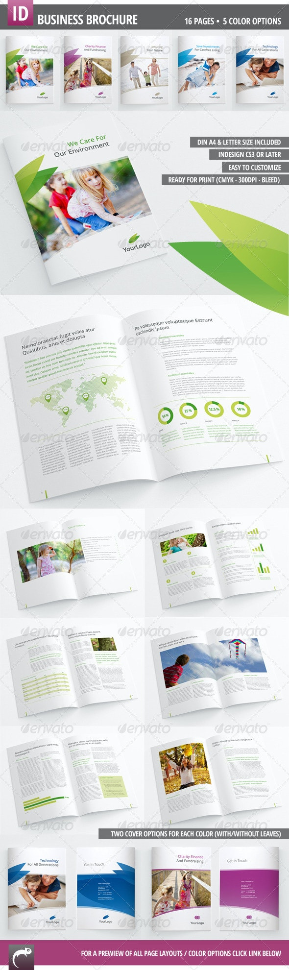 Corporate Brochure for your Business - Corporate Brochures