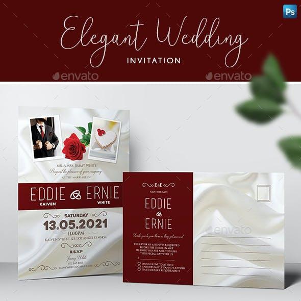 Wedding Invitation & RSVP
