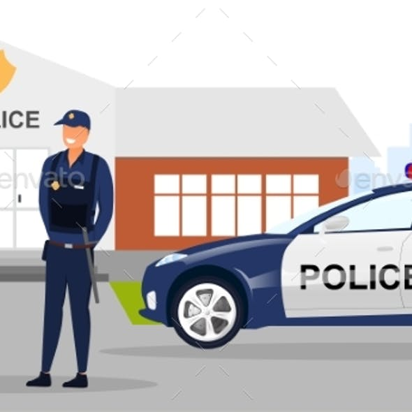 Police Officers Concept