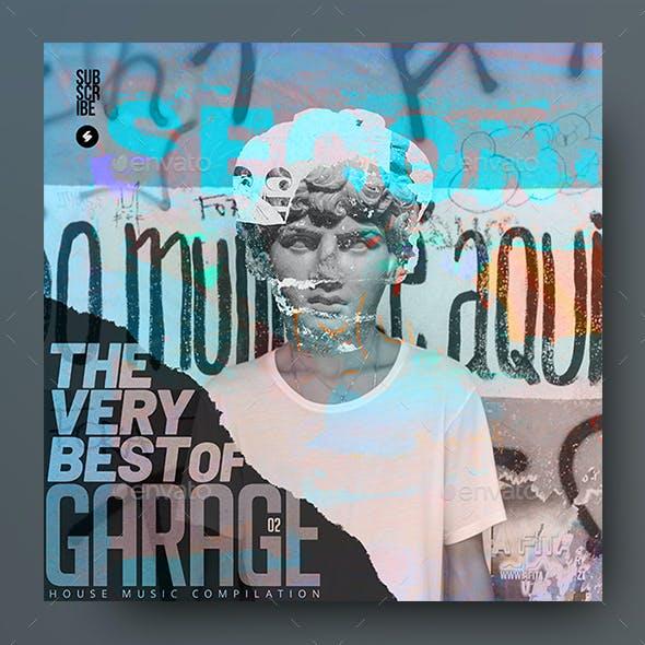 Garage Music 02 – Album Cover Artwork Template