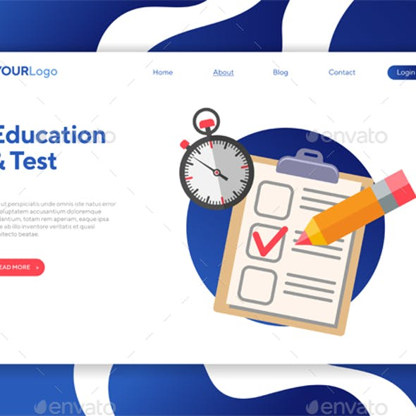Online Test and Education