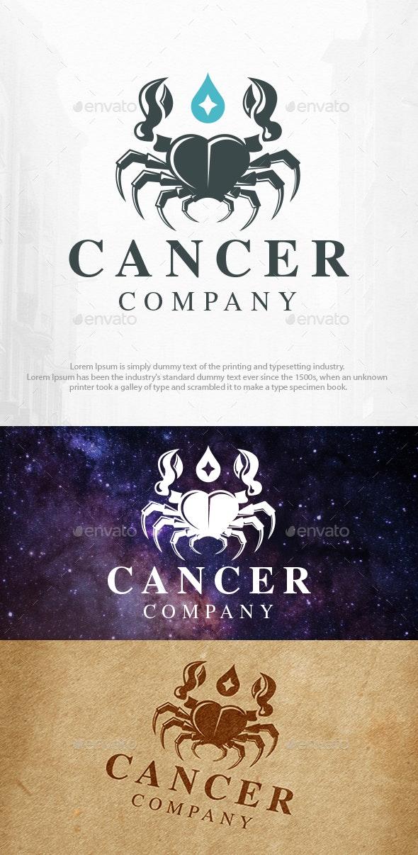 Cancer Zodiac Sign Logo Template - Animals Logo Templates