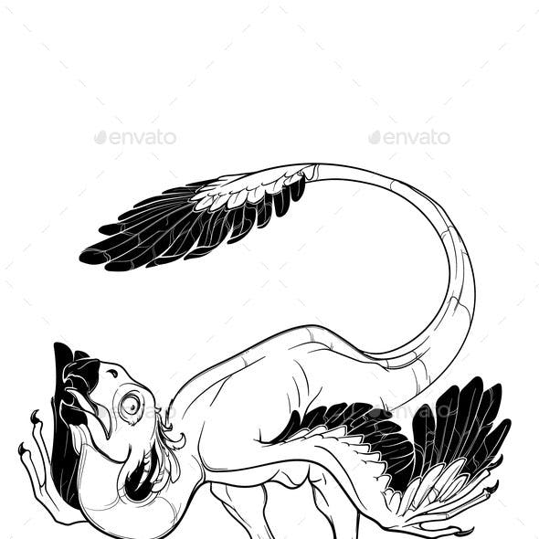 Gigantoraptor Mating Dance