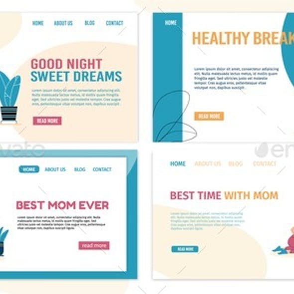 Mother Son Best Time Spend Together Landing Page