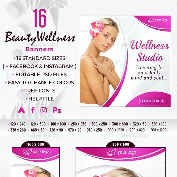 Beauty Wellness Banners