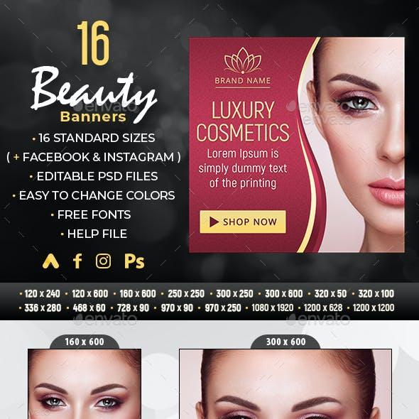 Beauty Sale Banners