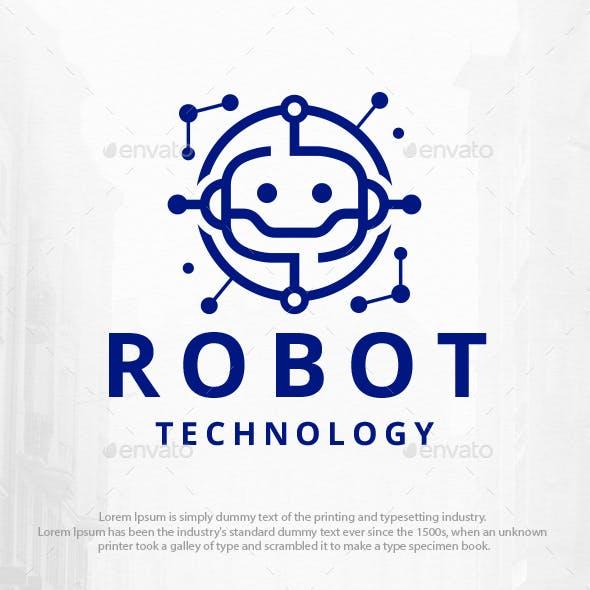 Robot Technology Logo Template