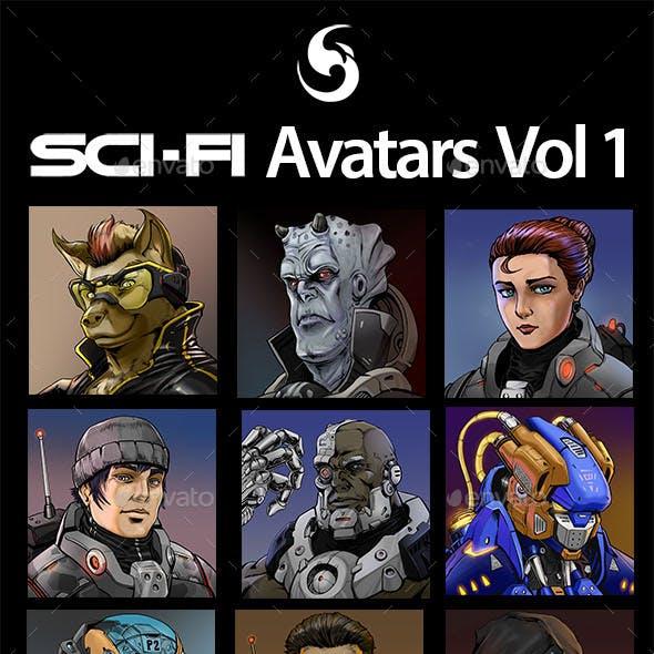SciFi Characters Avatar Vol.2