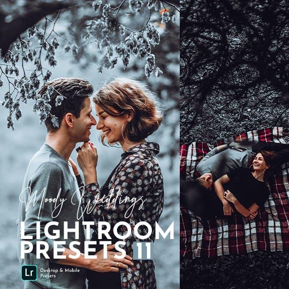 Moody Weddings Lightroom Preset Pack